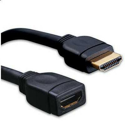 "8"" Inch HDMI High Speed Male to Female Extension Adapter Don"