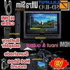 "Lilliput 7"" 5D-II/O HDMI In & Out Monitor Canon 5D Mark II 5"