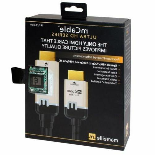 mcable hdmi cable with advanced 4k uhd