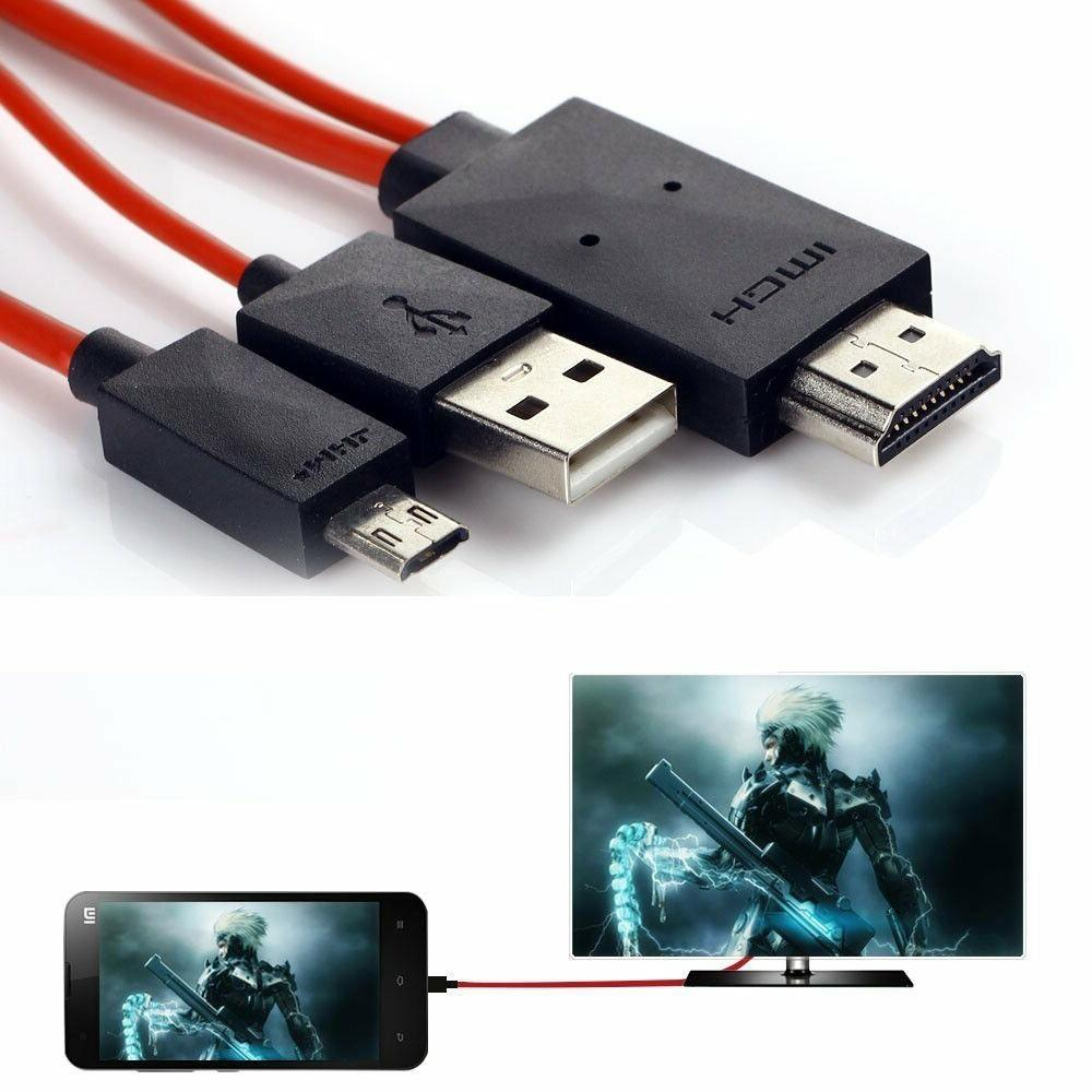 MHL Micro USB HDMI 1080P HDTV Cable Adapter S5