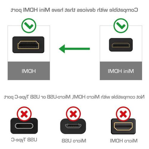 Micro To 1080P HDMI HDTV Cable Samsung