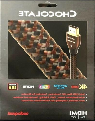 NEW Chocolate Cable 3D & 4K Ultra HD 2m