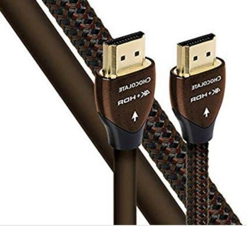 new chocolate hdmi cable w ethernet 3d