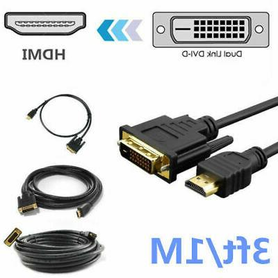 NEW to 24+1 Adapter Cable Gold HD HDTV 3 10