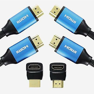 nylon braided hdmi cable speed