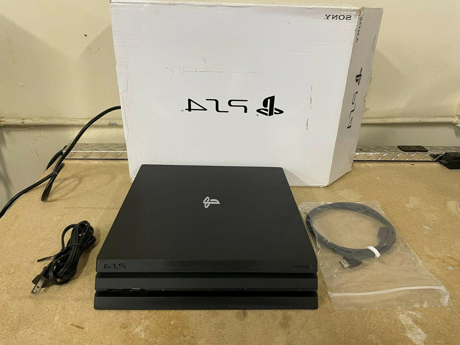 playstation 4 pro 1tb console with hdmi