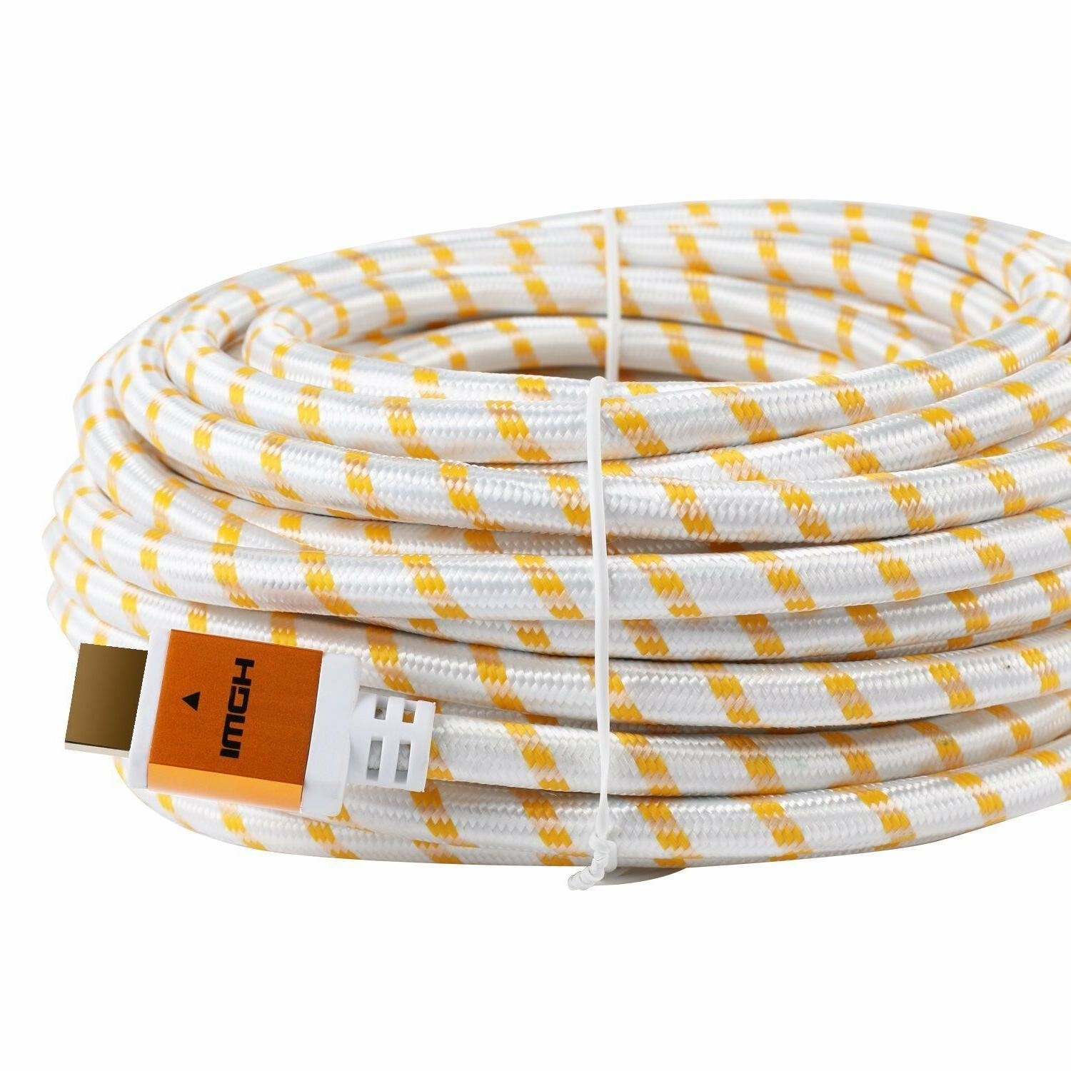 25FT 25feet HDMI Cable 1.4 For 3D DVD PS4 HDTV Xbox LCD LED