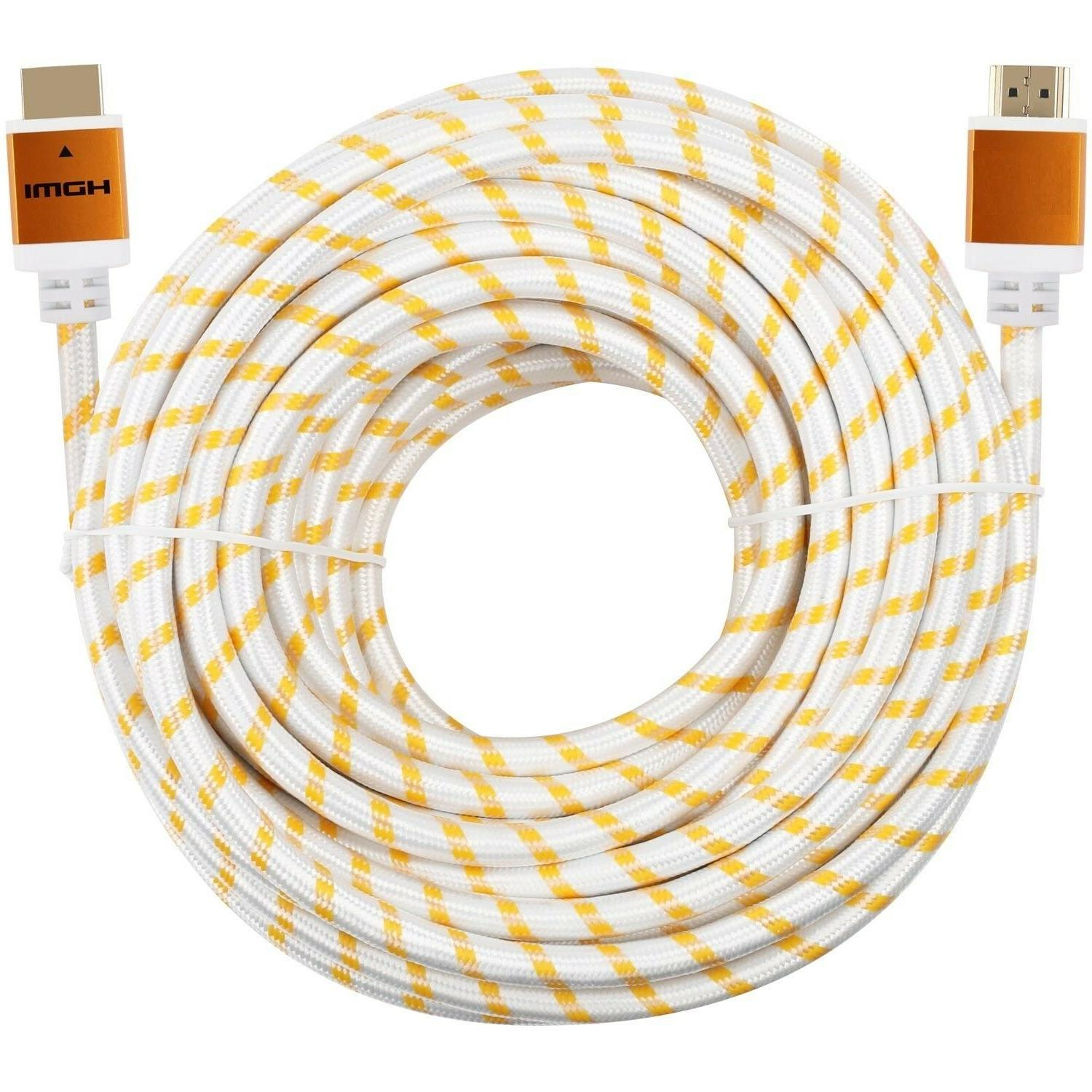 Premium Cable 3ft 6ft 25ft 100ft LOT