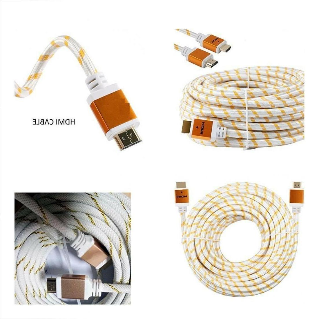 premium hdmi cable cord 3ft 6ft 10ft