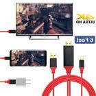 Type-C USB-C to HDMI w/Charging Cable Adapter for Samsung Ga