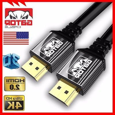 Ultra HD HDMI 2.0 HDR UHD 3D 4K Cable PS4 Xbox 2.2