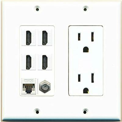 wall plates and connectors 15a power outlet