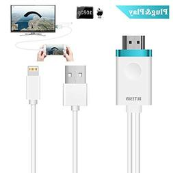 DUTISON IPhone to TV Cable, Iphone to HDMI Adapter Digital A
