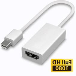 Macs Thunderbolt Mini Display Port DP to HDMI Adapter Cable