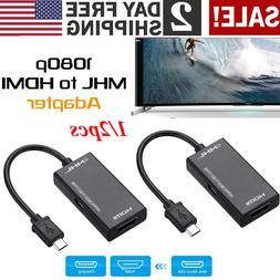 MHL Micro USB Male to HDMI Female Adapte