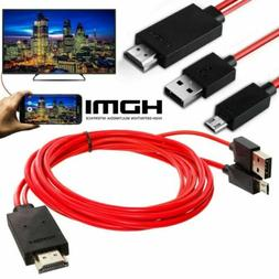 MHL Micro USB to HDMI 1080P HD TV Cable Adapter For Android