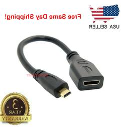 micro hdmi type d male to hdmi