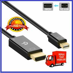 Rankie for Mini DisplayPort  to HDMI Cable 4K Ready-6 Ft