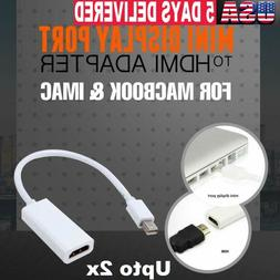 Mini DisplayPort to HDMI Cable Thunderbolt 4K High Speed Sur