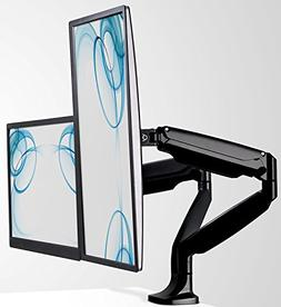 Mount-It! Dual Computer Monitor Mount Arm, LCD Monitor Stand