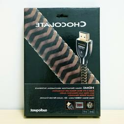 NEW - AudioQuest Chocolate High Speed HDMI Cable 2 Meters