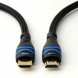 4k hdmi cable 25 feet black 4k