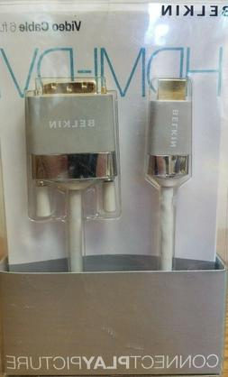 New Sealed Belkin  HDMI to DVI Cable Video Cable 6ft