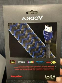 New! Authentic AudioQuest Vodka HDMI Cable with Ethernet, 3D