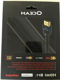 AudioQuest - Ocean 8' 4K Ultra HD In-Wall HDMI Cable - Black