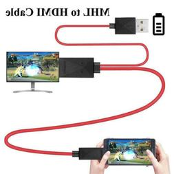 Phone to HDMI TV Cable Video Adapter For Samsung Galaxy Note