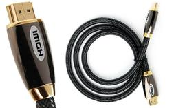 PREMIUM HDMI Cable v2.0 HD High Speed 4K 2160p 3D Lead gold