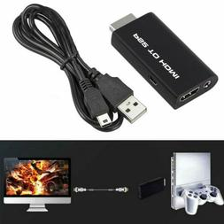 Sony Playstation 2 PS2 to HDMI Converter Adapter Adaptor Cab