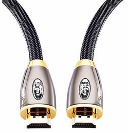 IBRA® 3 Feet High Speed Pro Gold Red HD V2.0/1.4a Hdmi Cabl