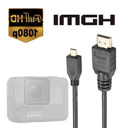 Luxebell High Speed HDMI HD Video Cable for Gopro Hero 7 6 5