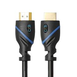8ft  High Speed HDMI Cable Male to Male with Ethernet Black