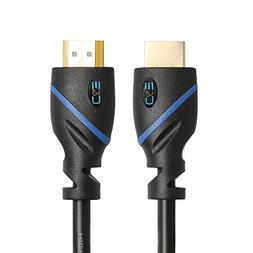 25 FT  High Speed HDMI Cable Male to Male with Ethernet Blac