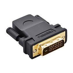 UGREEN High Speed HDMI Female to DVI 24+1 DVI-D Male Adapter