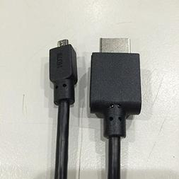 GeChic High Speed Mini-HDMI to Micro-HDMI 2.1m Cable for Cam