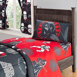 Star Wars Twin Sheet Set - 3 Pieces; Flat Sheet, Fitted Shee