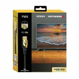 Monster Ultra HD Gold HDMI 2.0 Cable - 25ft