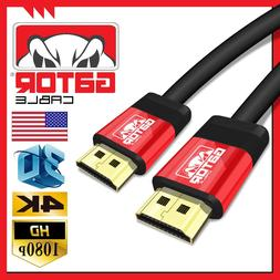 Ultra HD HDMI High Speed UHD 4K Cable 3D 1080P Ethernet LED
