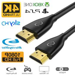 Ultra Slim HD HDMI Cable 2.0 HDTV 3D 2160P 4K HDR 120HZ 18Gb