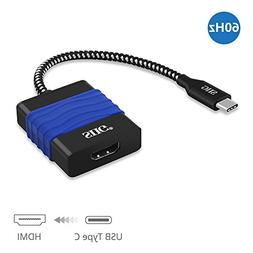 SIIG USB C to HDMI 4K 60 Hz Adapter Converter, Type C to HDM