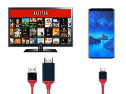 USB-C Type C to HDMI HDTV TV Cable Adapter Compatible Apple