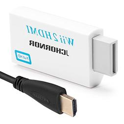 Wii to HDMI Converter with 5ft High Speed HDMI Cable Output