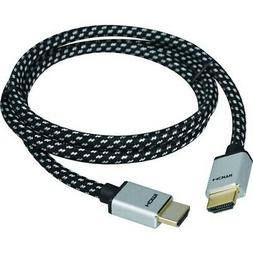 Woven Braided High Speed HDMI Cable 3m - UHD 4Kx2K