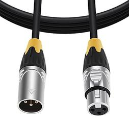 BC Master XL10 Cable Matter XLR Male to Female Microphone Ca